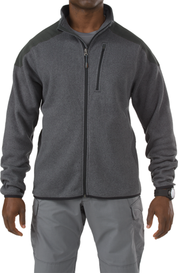 72407 Tactical full zip sweater